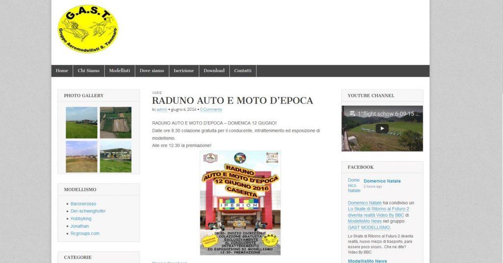 Online il sito di aeromodellismo San Tammaro - Caserta