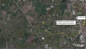 foto dallo spazio con visuale di S.Tammaro2